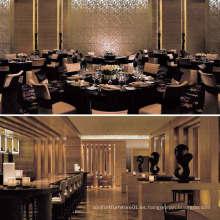 Moderno restaurante del hotel conjunto de muebles (EMT-SKD11)