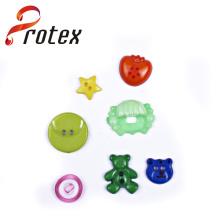 Formas al por mayor diferentes del botón del bebé, botón de la placa para los niños
