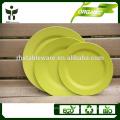 Barato prato prato jantar prato biodegradável prato