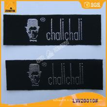 Étiquette de vêtements tissés LW20010