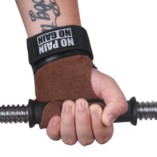 Grip Belt Cowhide Wristband Palm Protector Fitness Equipment Non-Slip