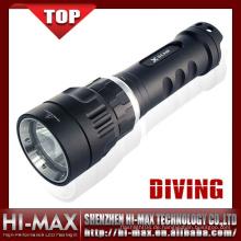 Magnetische 100m wasserdichte LED Tauchen Taschenlampe
