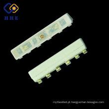 Tamanho muito pequeno 4508 Ultra Bright 4 pinos SMD LED PLCC 020 RGB LED para Pestanas