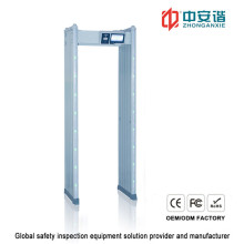 IP55 24 Detector Zones Detector de metais impermeável com controle remoto de aplicação