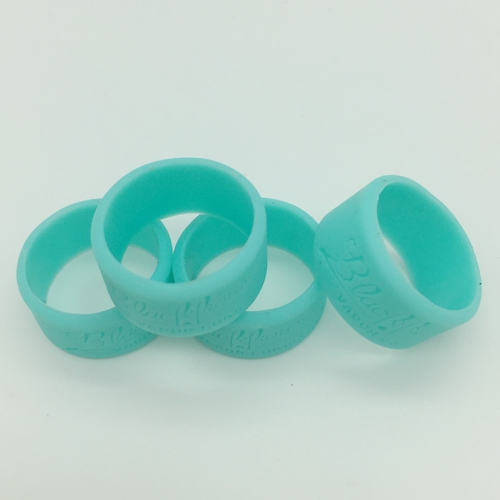 debossed silicone thumb bands