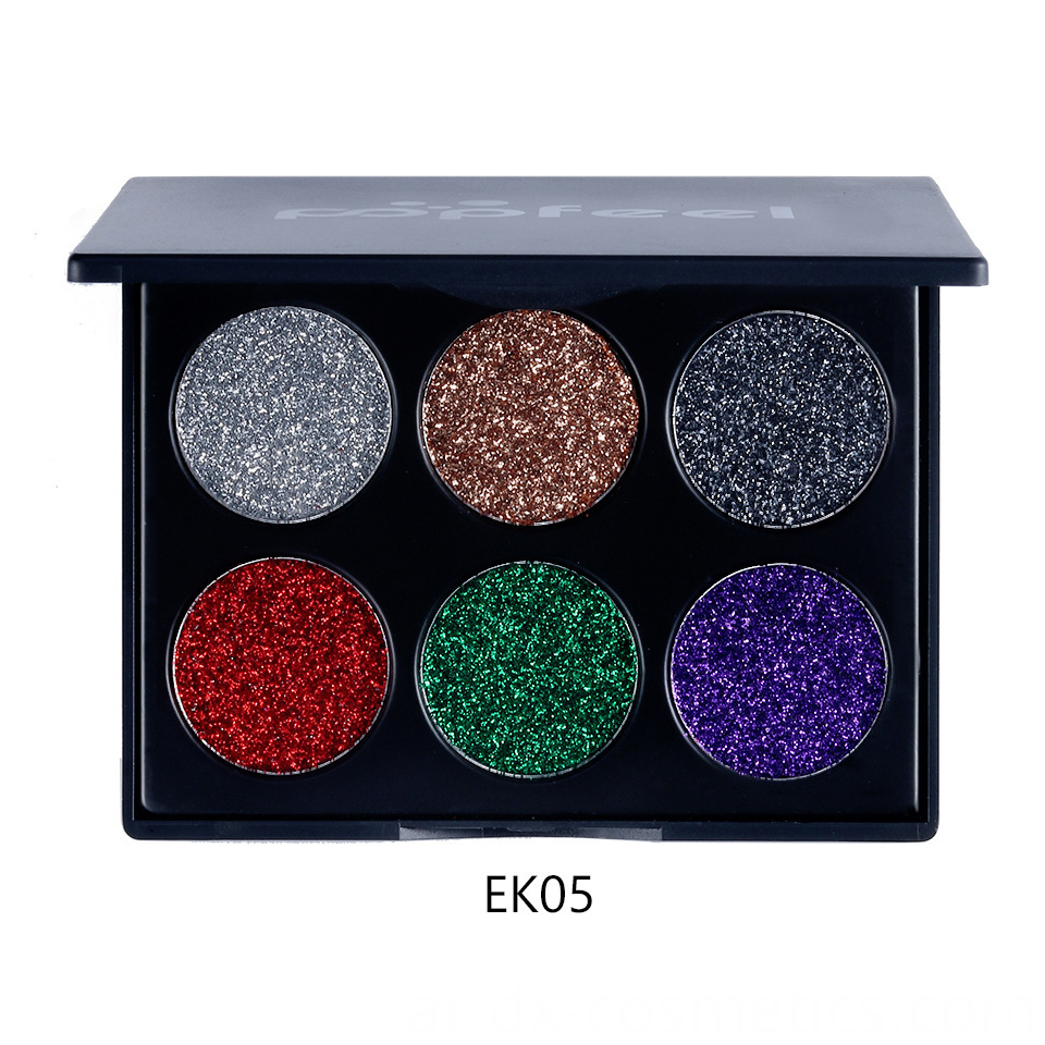 6 Colors beauty Gligger Eye Shadow 15