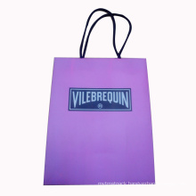 Packaging Paper Bag for Shopping with Handle and Logo (SW105)