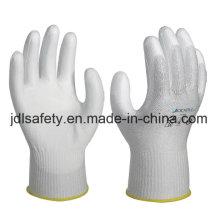 Вырезать устойчивостью безопасности работы перчатки покрытые Пу (PD8021)
