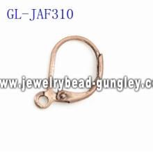 Flower lever back earrings findings jewelry findings