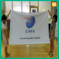 High Quality Custom Wholesale polyester lamppost banner