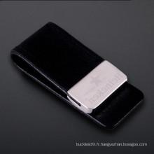 Hot Sale Fashion Custom Leather Money Clip Holder