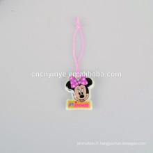Charme de téléphone Mickey Mouse sur mesure