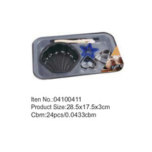 28.5*17.5cm kitchen cake pan sets