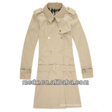 fashion double breasted custom trench jackets