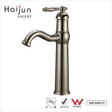 Haijun Fabricación Precios NSF Salud latón lavado de agua Grifos de lavabo