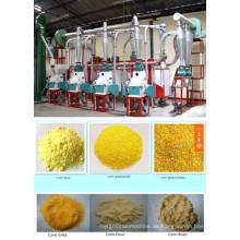 25 T / 24h Mais Mehlfräsmaschinen, Maisfräserei