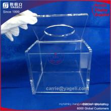 17 Years′ Experience Factory Square Acrylic Napkin Box