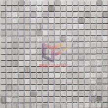 Gery Wood Pattern Marble Mosaic (CFS929)