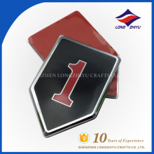Placa de identificação irregular popular personalizada para presente