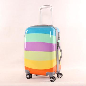 Impressão Colorida De Moda, Melhor Viagem Leve, Malas, Hard Shell, Carry on PC Luggage