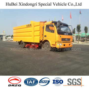 7.5cbm Compact Dongfeng Street Road Sweeper Euro 4