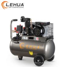Máquina elétrica do compressor de ar do motor elétrico 50l mini de 1.5hp