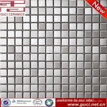 suministro de la fábrica foshan precio de mosaico cuadrado de acero inoxidable
