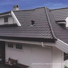 Durable colorido cerâmico intertravamento telhas impermeáveis