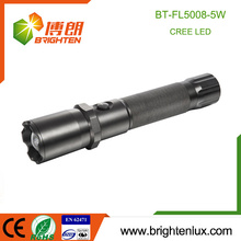 Factory Supply Portable Handheld High Quality Hunting Tactical Powerful Beam Zoom réglable 5watt Meilleur cree u3 led lanterne