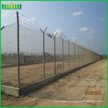 Installation facile de clôture d'aéroport haute sécurité de haute qualité à vendre