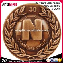 Metal de encargo del diseño que sella la moneda antigua de la India de la copia del antqu del recuerdo para la venta