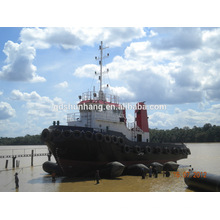 Bolsa a ar inflável de borracha do certificado de CCS para o navio / barco / lançamento marinho