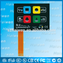 2014 new 3M Self-Adhesive Membrane Button With Reverse Side Printing