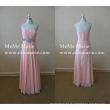 Bester Preis-Kleid-Sleeveless Abschlussball-Kleid-Knöchel-Längen-Brautjunfer-Kleid mit Rhinestones BYE-14048