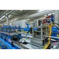 Máquina de linha de máquina para produção de painel sanduíche seccional formado em PU