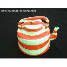 Acepte el soplado de encargo moldeando el pote de agua plástico colorido