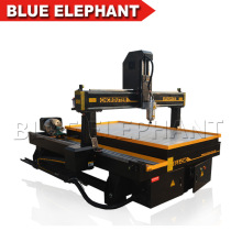 Jinan 4 Axis 3D Carving CNC Router Machine with Rotary Device for Wood Engraving
