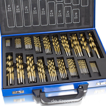 Rolled Edge Ground Cobalt Metric Bohrer Set
