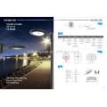 Haute qualité IP65 imperméable LED lumière jardin 20W ~ 50W Super brillant conduit lampe extérieure 5 ans garantie lumière led en aluminium
