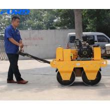 Rouleaux vibrants de route de compacteur de rouleau du moteur diesel 550KG de KIPOR (FYL-S600C)