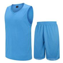 sec ajustement haute qualité faible MOQ approvisionnement d'usine maillot de basket dernière conception en gros uniforme de basket-ball