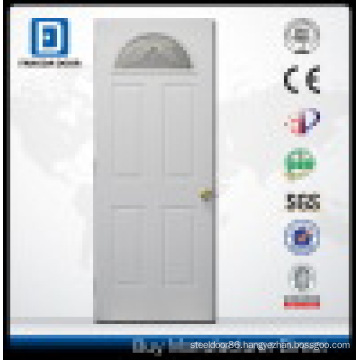 Fan Lite Prehung Steel Entry Door with Tempered Safety Glass