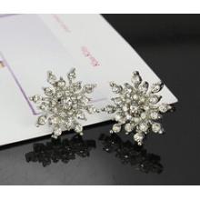 Bijoux de Noël / Boucle d'oreille de Noël / Neige de Noël (XER13358)