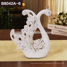 Parade classique faveur mariage décoration mobilier accessoires céramique no moq swan lovers crafts