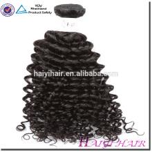 Accesorio para el cabello y tejido brasileño virginal rizado del pelo del enrollamiento de la armadura