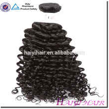 Hair Attachment And Weaving Virgin Brazilian Kinky Curl Hair Weave