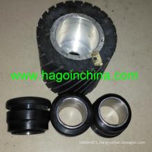 Bespoke Steel Inside Rubber Roller