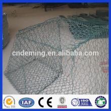 green chain link fence gabion /diamond high quality galvanized gabion