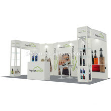 Detian offre stand 10x20ft stand commerce équitable avec un design libre