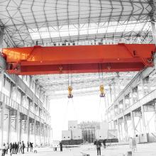 Hohe Effizienz Elektrische Doppelträger 30 Tonnen Overhead Cranes